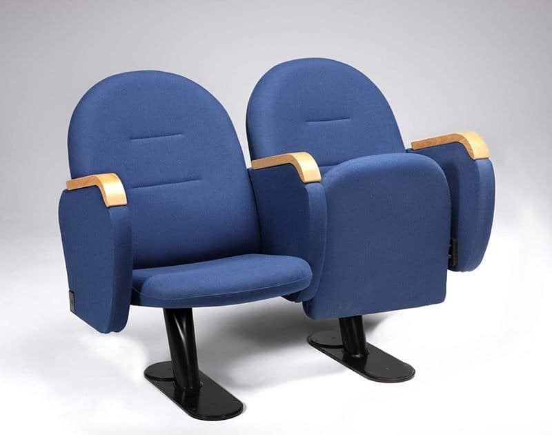 Arcua, Bequeme Sessel mit Klappsitz, für Kinos