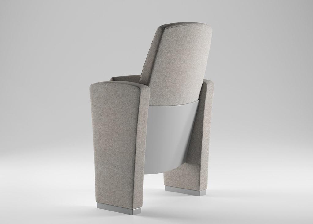 CONCERTO, Technologische Sessel für Konferenzräume, Theater und Universitätsvorlesungen Zimmer