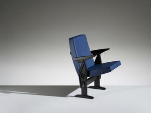 FUTURA, Sessel mit verdecktem System für Räume und Auditorien