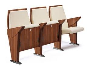 One to One, Sessel mit Liegesitz, für Auditorien und Konferenzräume