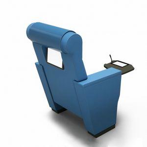 ROYALE IMPERIAL, Multimedialer Sessel für den Hörsaal mit Touchscreen