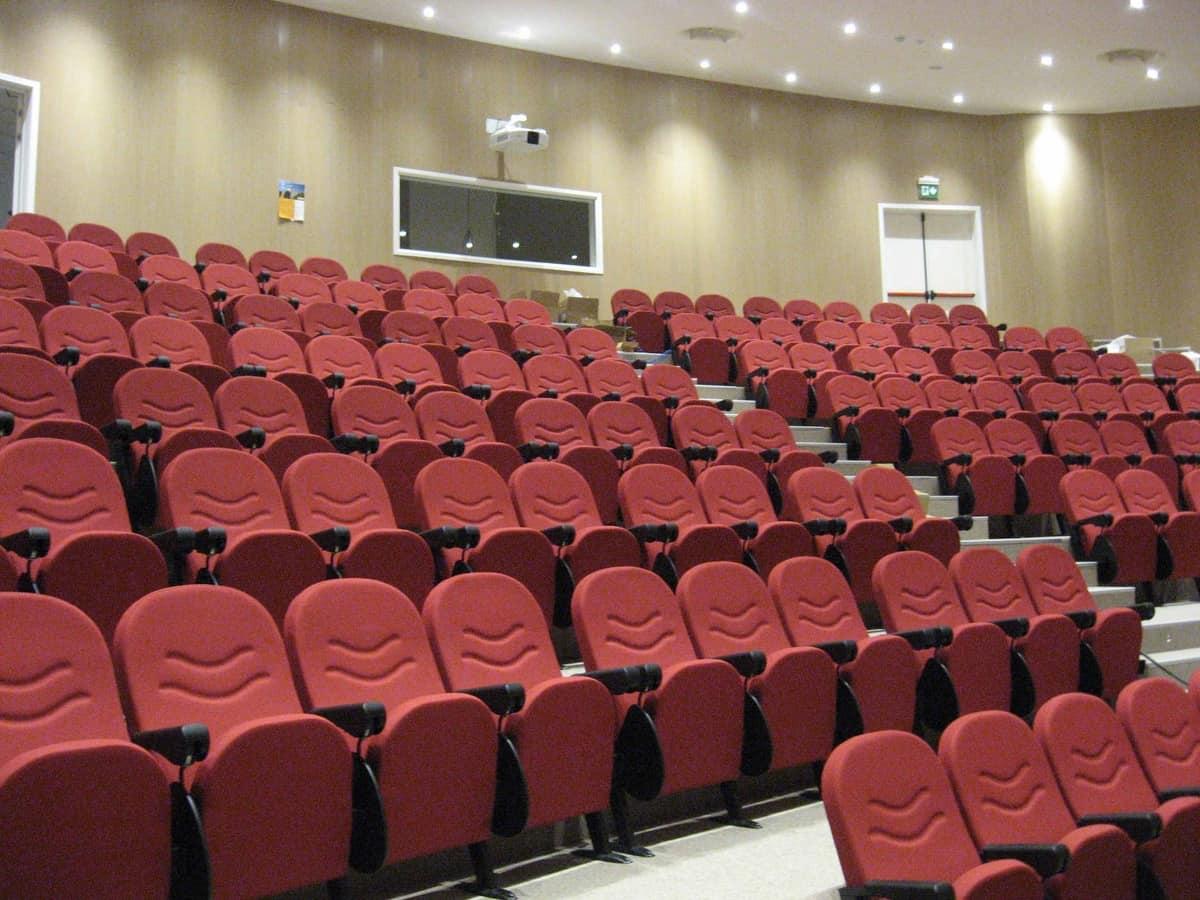 Simplex 2, Feuerfeste modulare Sessel für Theater und Kongresshalle