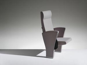 UNICA, Sessel mit amortisiertem Umkippen für Hörsäle