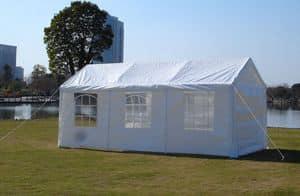 Auto-Garten-Pavillon – GA306PEF, Pavillon aus lackiertem Stahl und wasserdichtes Gewebe, im Freien