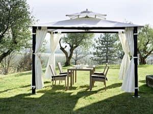 Hawaii, Eisernen Pavillon, forgarden mit curtanis, fixierbar auf den Boden