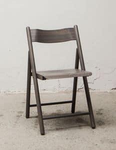 184, Leichte Klappstuhl, aus Buchenholz