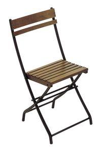 2099, Klappstuhl, aus Metall und Holzlatten