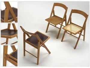 Ethel, Platzsparende Stuhl, bequem und vielseitig