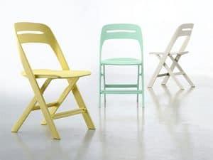 Novite, Plastic Klappstuhl, für den Außenbereich