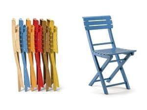 Onos, Holz-Klappstuhl, verschiedene Farben