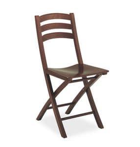 Quick, Holz-Klappstuhl, für Vertrags-und Wohnnutzung