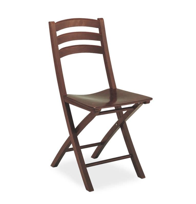 Holz-Klappstuhl, für Vertrags-und Wohnnutzung   IDFdesign