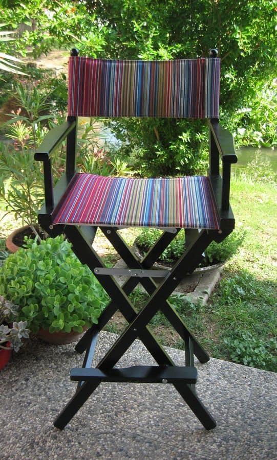Regista P Hoch, Regiestuhl mit Sommerfarben