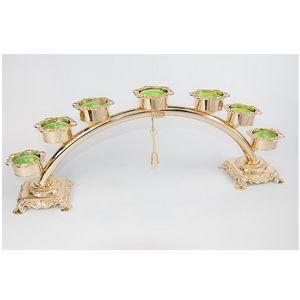 6005, Kandelaber im klassischen Stil für sieben Kerzen