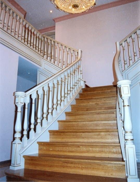 Klassische Treppen treppen im klassischen stil für wohnzwecke und hotels idfdesign