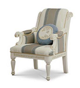 1732/A, Bequemer Sessel im klassischen Stil