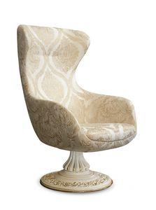 4647/A2, Sessel mit hoher Rückenlehne