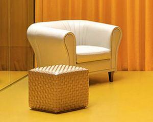 Antoni Sessel, Kuvertierung Luxus-Sessel, in Leder, für Lounge-Bereiche