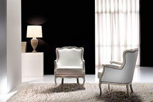 Aston, Klassischer Sessel für glamouröse und elegante Umgebungen