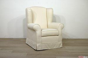 Camelia, Klassischer Bergère-Sessel mit hoher Rückenlehne