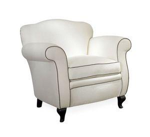 Cecilia, Abnehmbarer Sessel mit einem klassischen Design