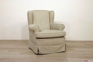Desirè, Kleiner Bergère-Sessel im klassischen und eleganten Stil