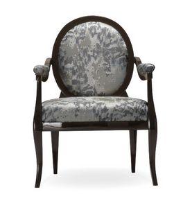 Diana Sessel, Klassischer Sessel mit runder Rückenlehne