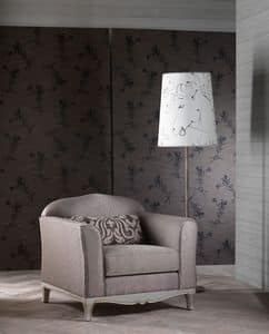 DORIAN Sessel 8557A, Sessel elegant, exzellente Verarbeitung, für klassische Wohnzimmer