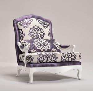 ETOILE Sessel 8651A, Sessel mit abgerundeten Formen verziert, anpassbare