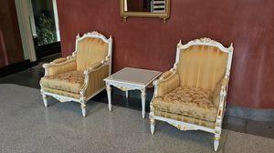 Impero Sessel, Sessel von italienischen Handwerkern dekoriert