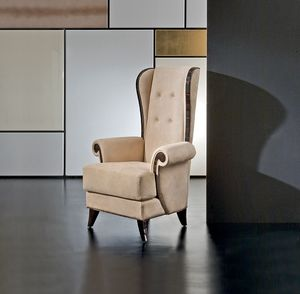 Mikado MK158, Klassischer bergere Sessel mit hoher Rückenlehne