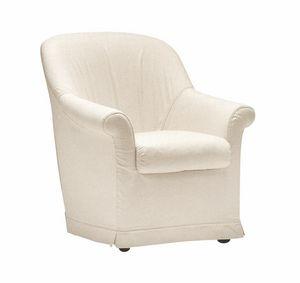 Minnie, Sessel mit abnehmbarem Stoff