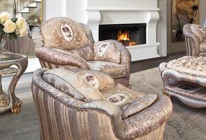 Prodige Sessel, Sessel mit einem klassischen Geschmack und raffinierten Kombinationen
