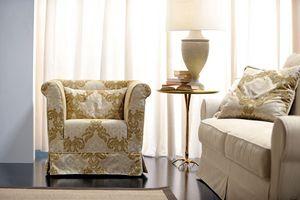 Velasquez, Sessel mit einem traditionell rationalen, nüchternen und eleganten Design