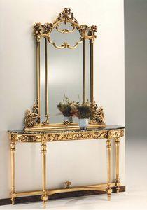 2635 Konsole, Konsolentisch im Stil Louis XVI