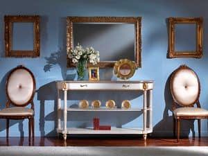 3510 CONSOLE, Klassische Konsole mit Marmorplatte
