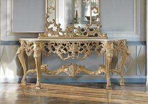 ART. 2949, Klassische Konsole mit Gold-Finish