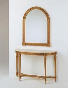 Art. 700, Geschnitzt Konsole Louis XVI-Stil, für klassische Hotel