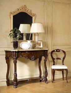 Art. 972, Luxury klassischen Konsolen, Marmorplatte, zum majestätischen Eingänge