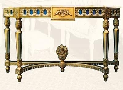 holzkonsolen console art 203. Black Bedroom Furniture Sets. Home Design Ideas