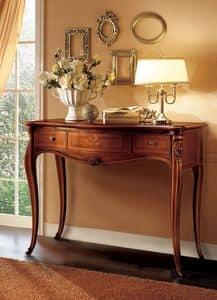 Elite Konsole, Holzkonsoleideal für klassischen Luxus -Umgebungen