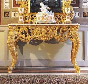 Opera-Konsole, Luxury klassische Konsole Hand von italienischen Meistern geschnitzt