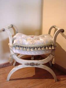 Art. 1019, Sessel aus Holz für Haus, ohne Rückenlehne