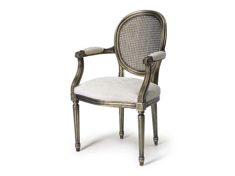 Sessel mit sitz und r ckenlehne aus stroh stil louis xv gemacht idfdesign Sofa minotti preise
