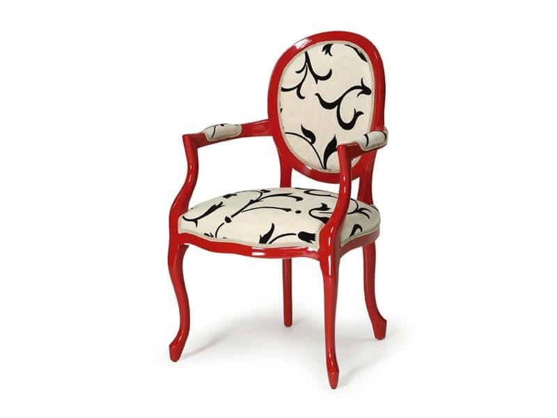 Art.418 armchair, Klassischen Stil Stuhl, für Hotels und Restaurants