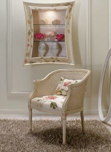 Art. 5080, Kleiner Sessel mit Wiener Strohlehne