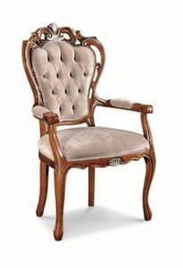 Art. 520p, Stuhl Kopf der Tabelle mit perforierten Struktur, getuftet