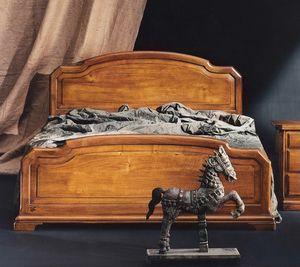 '800 Bett, Klassisches Holzbett
