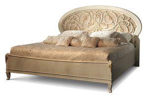 1478V2/A, Klassisches Bett mit offener Kopfteil