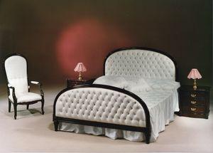 2195 BETT, Klassisches Bett im englischen Stil